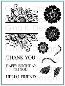 Clear Stamps Bold and Blooming