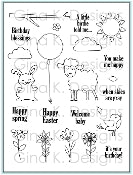 Clear Stamps Happy Spring