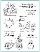 Clear Stamps Your Own Kind of Beautiful