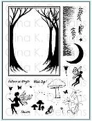 Clear Stamps Framescapes Enchanted Forest