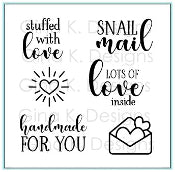Clear Mini Stamps Stuffed With Love