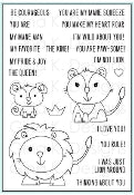 Clear Mini Stamps Liam and Liz Lion