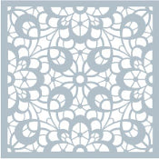GKD Art Stencils Lovely Lace