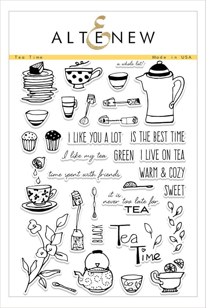 Tea Time Stamp Set