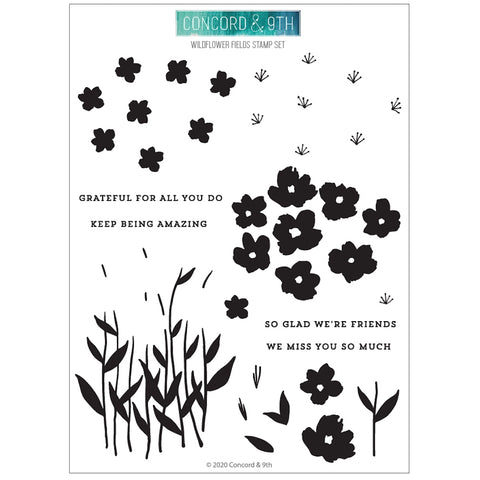 Wilflower Fields Stamp Set