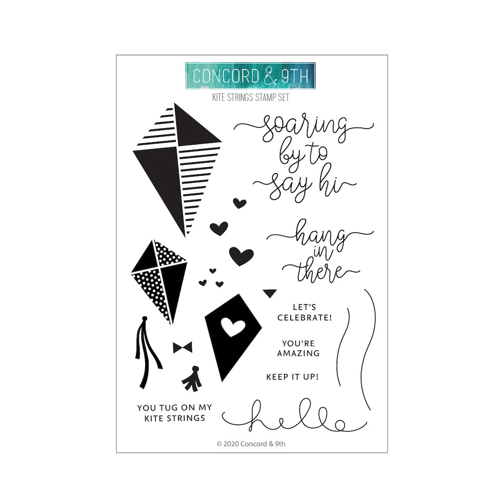 Kite Strings Stamp Set