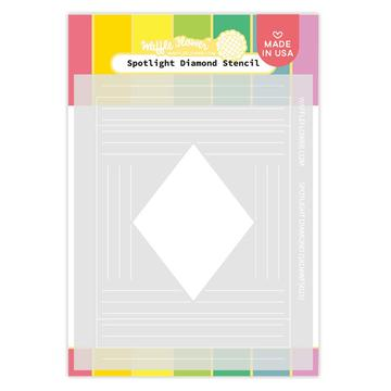 Spotlight Diamond Stencil