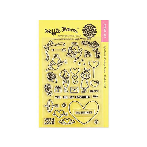 Favourite Valentine Stamp Set