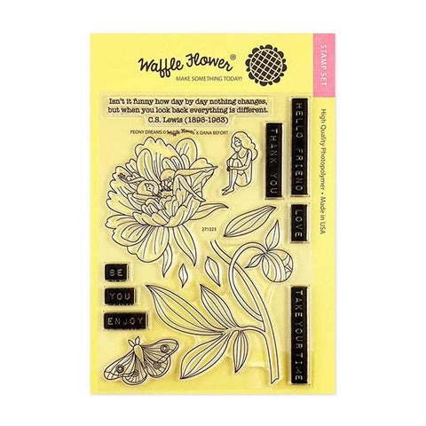 Peony Dreams Stamp Set