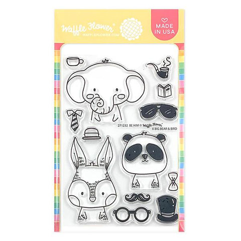 Be Him Stamp Set