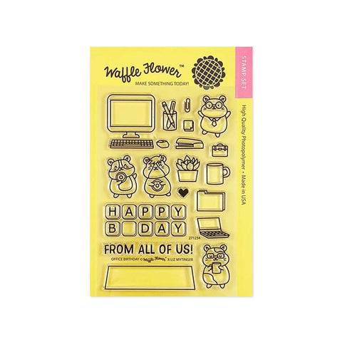Office Birthday Stamp Set