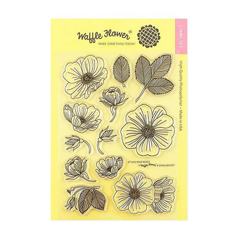 Wild Roses Stamps Set