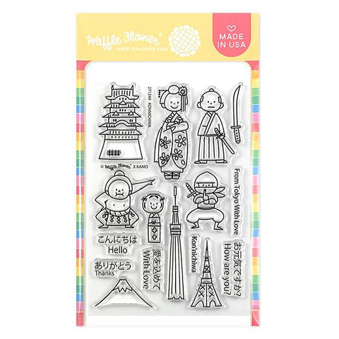 Konnichiwa Stamp Set