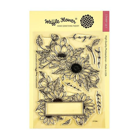Sunflower Love Stamp Set