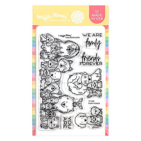 Puppy Power Stamp Set
