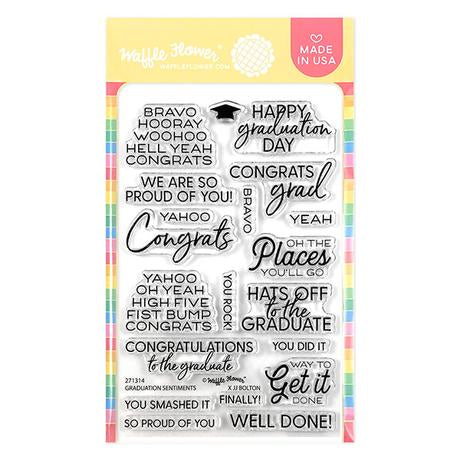 Graduation Sentiments Stamp Set
