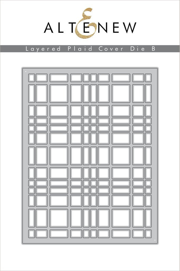 Layered Plaid Cover Die B