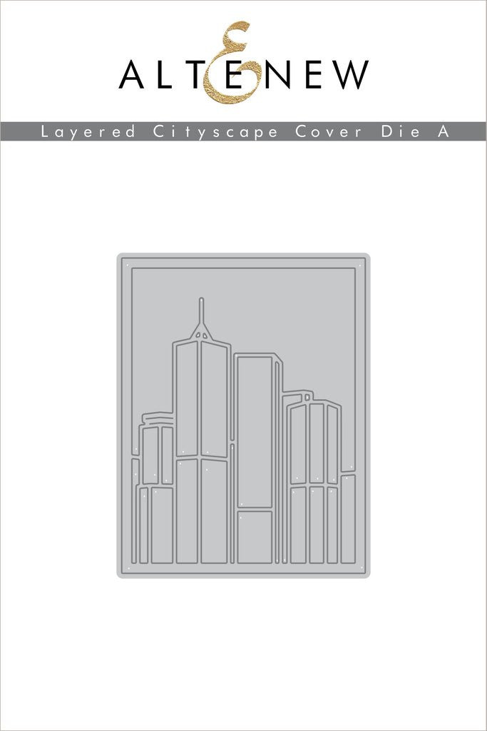Layered Cityscape Cover Die A