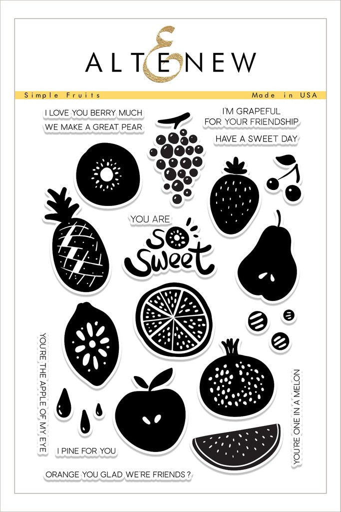 Simple Fruits Stamp Set