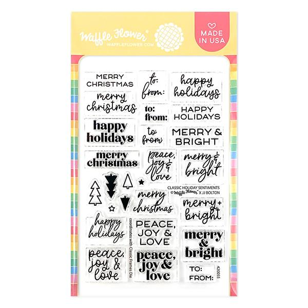 Classic Holiday Sentiments Stamp Set