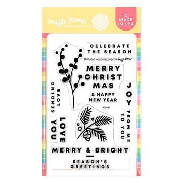 Spotlight Holiday Elements Stamp Set
