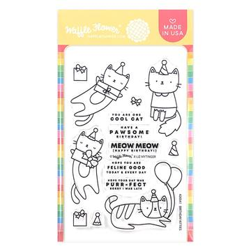 Birthday Kitties Stamp Set