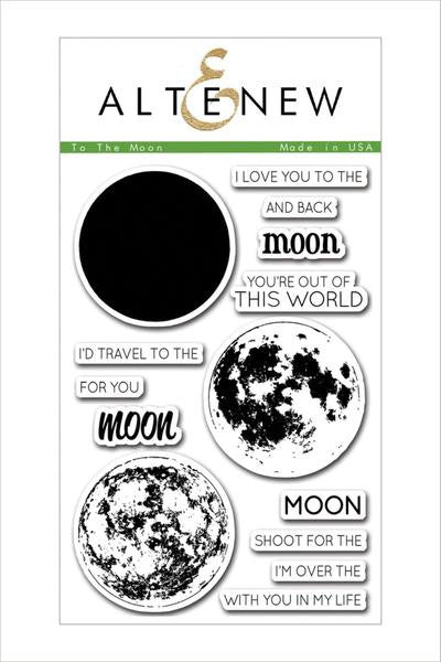 To The Moon Stamp Set