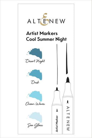 Artist Markers Cool Summer Nights Set