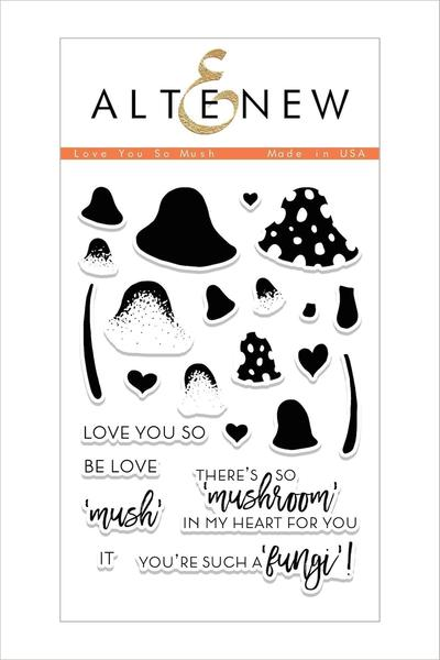 Love You So Mush Stamp Set
