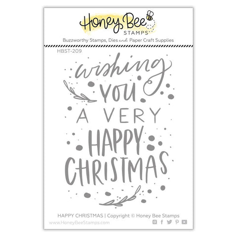 Happy Christmas Stamp Set