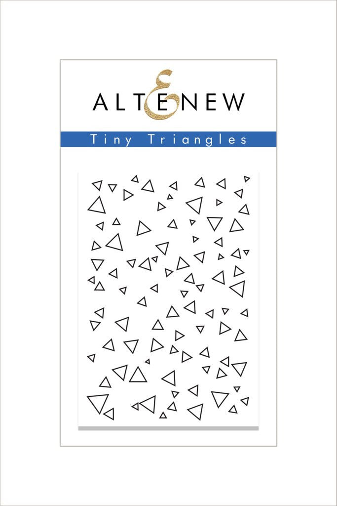 Tiny Triangles Stamp Set