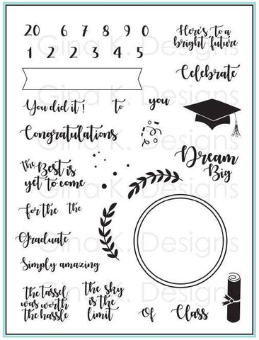 For The Grad Stamp Set