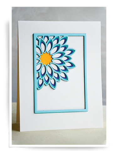 Dahlia Mini Frame Layer Set