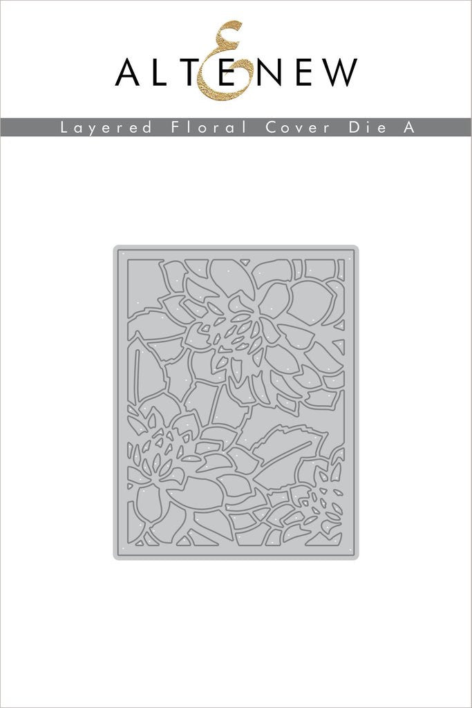 Layered Floral Cover Die A