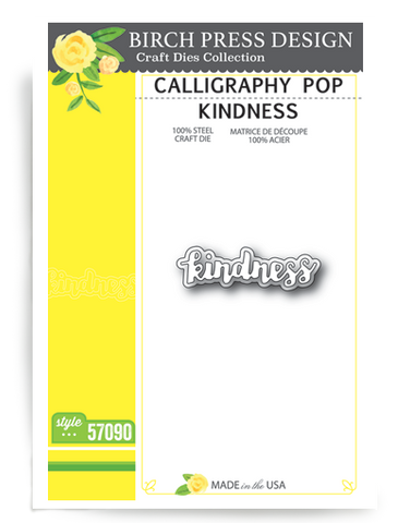 Calligraphy Pop Kindness