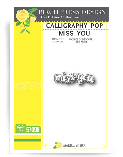 Calligraphy Pop Miss You
