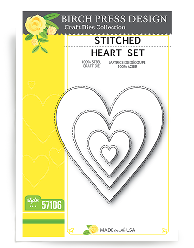 Stitched Heart Set