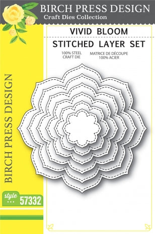 Vivid Bloom Stritched Layer Set