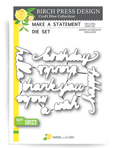 Make A Statement Die Set