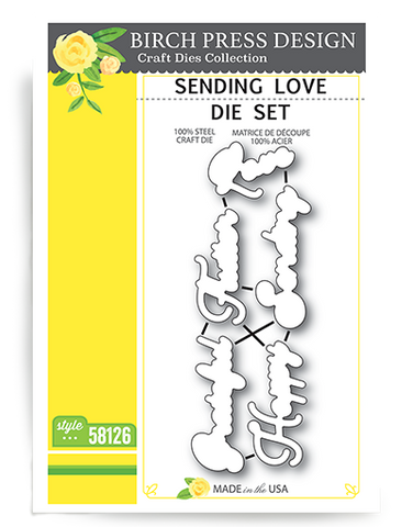 Sending Love die set