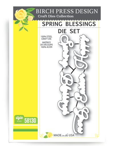 Spring Blessing Die Set