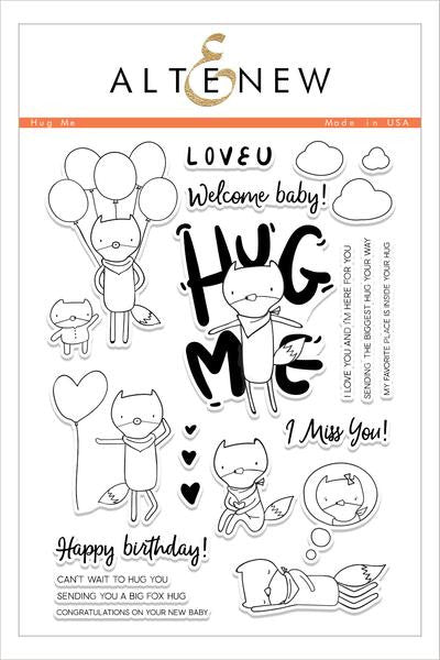 Hug Me Stamp Set