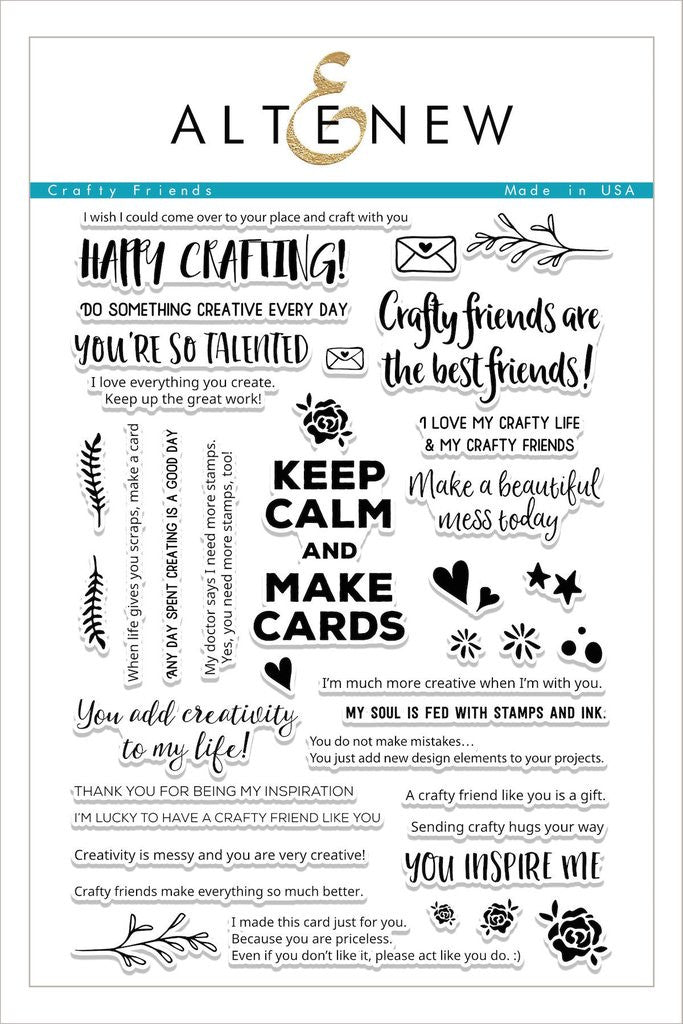 Crafty Friends Stamp Set