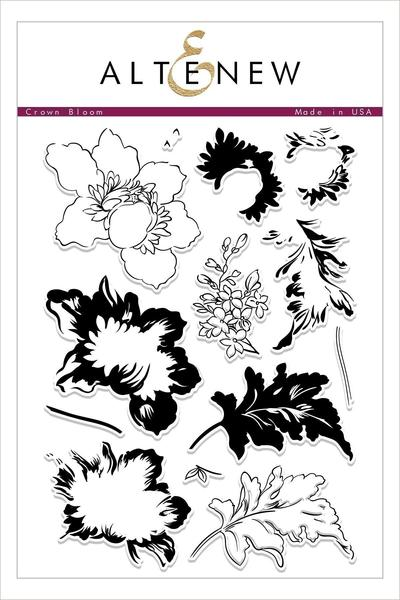 Crown Bloom Stamp Set