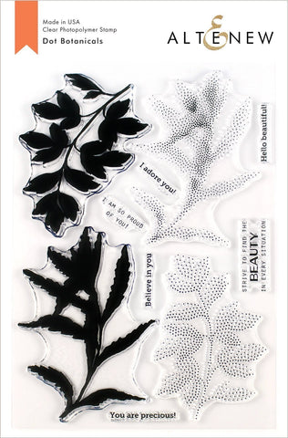 Dot Botanicals Stamp Set