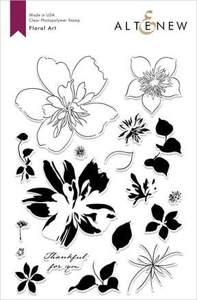 Floral Art Stamp Set