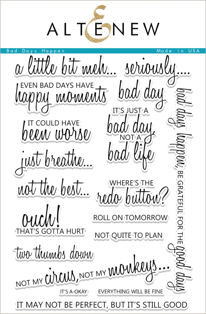 Bad Days Happen Stamp Set