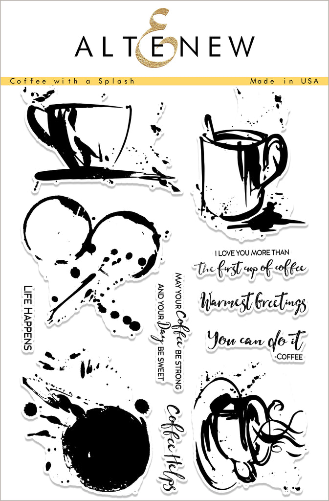 Coffee With A Splash Stamp Set
