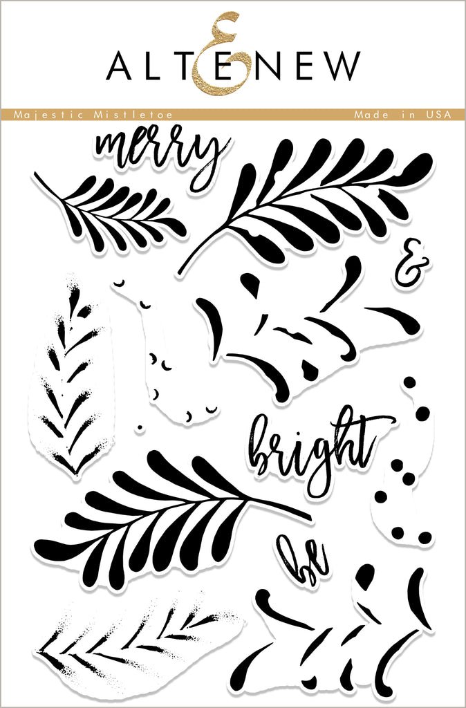 Majestic Mistletoe Stamp Set