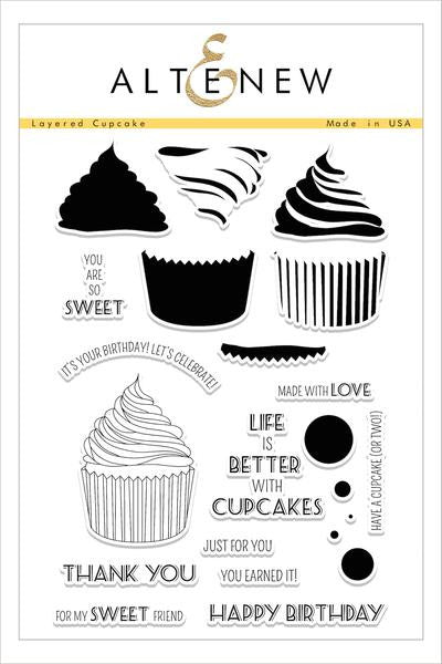 Layered Cupcake Stamp Set